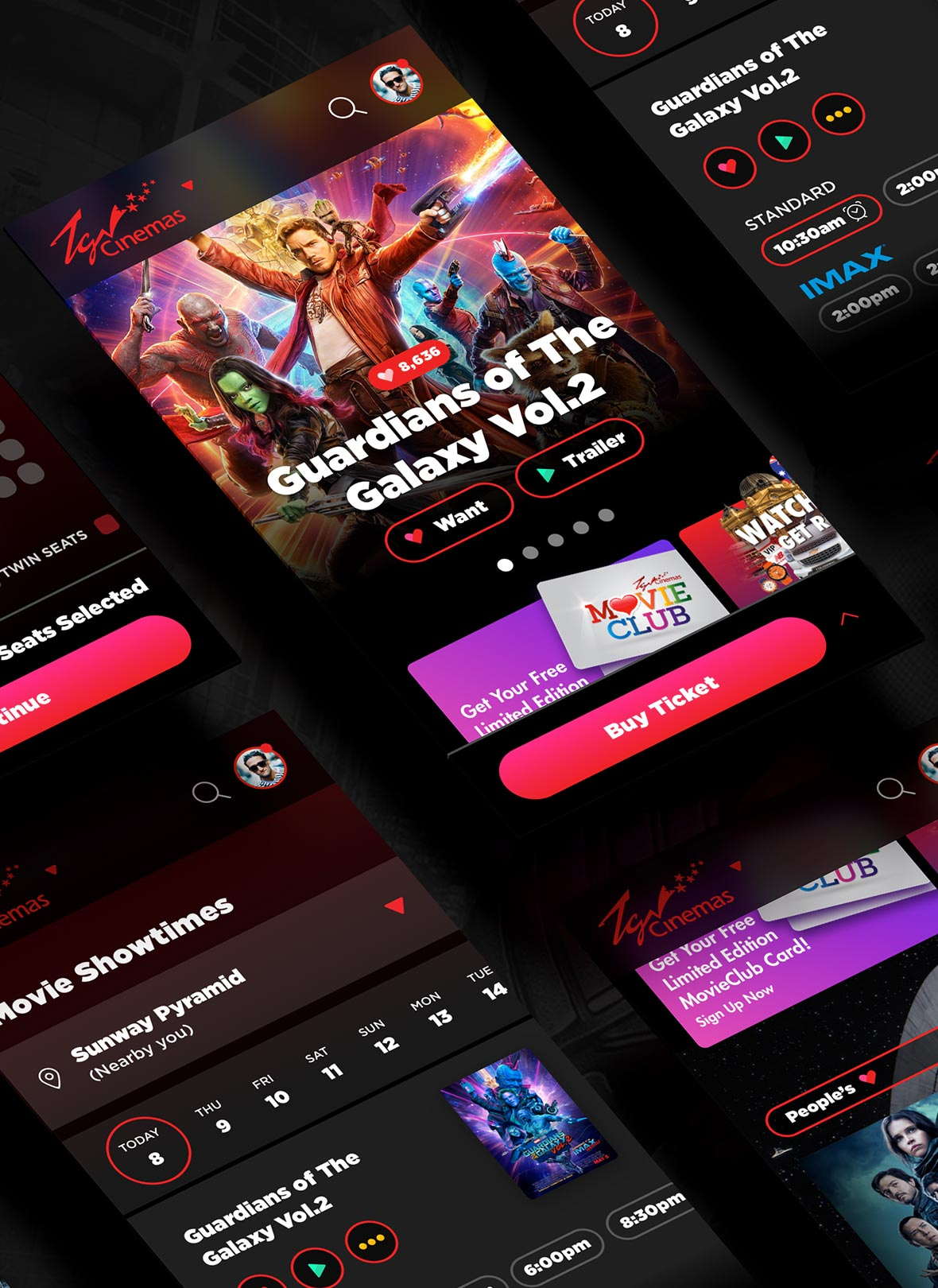 TGV – Reimagining Movie Booking Experience